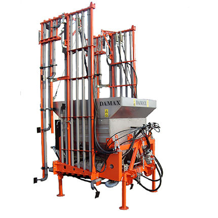 mounted fertilizer spreader / dry / folding