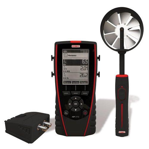 air pressure gauge / for gas / portable