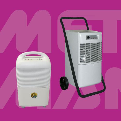 dehumidifier for farm buildings / mobile / refrigerant