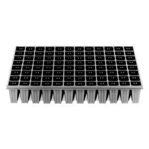 plastic plug tray / reusable / rectangular
