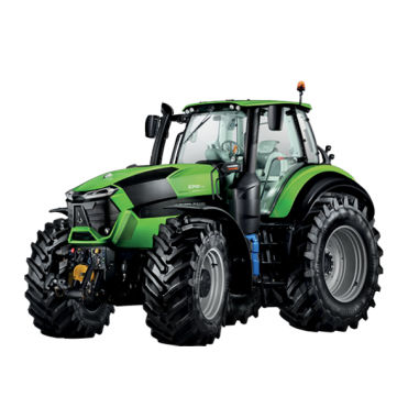 tractor with cab / front PTO / 3-point hitch