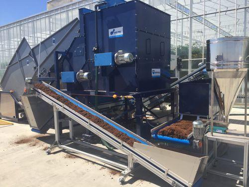 stationary processing machine