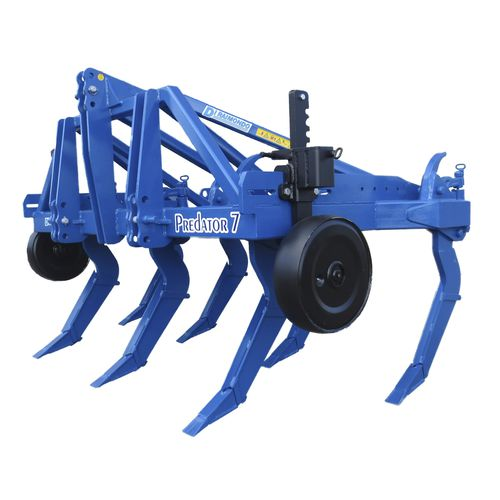 5-shank subsoiler / 3-point hitch / with gauge wheels