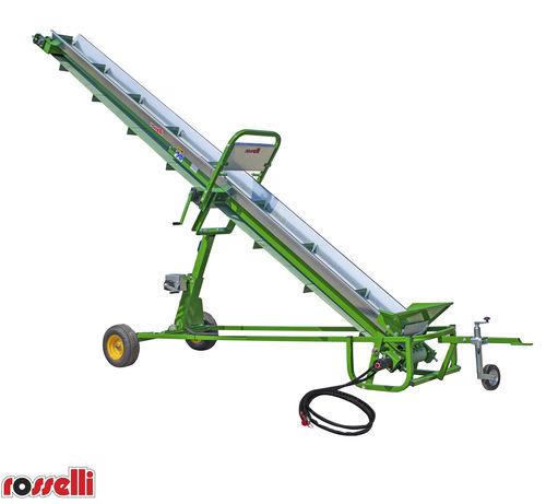 wood chip conveyor - ROSSELLI Snc Officine Meccaniche