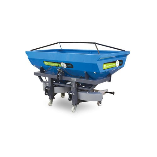 mounted fertilizer applicator / centrifugal / double-disc