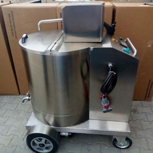 milk trolley with pump