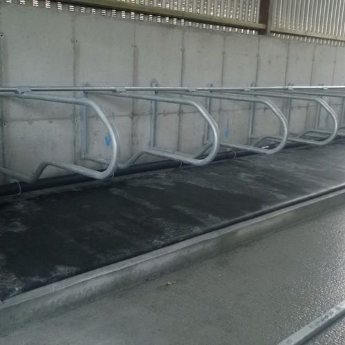wall-mounted cow cubicle