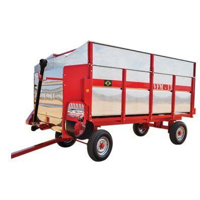 dump trailer / 2-axle / silage / self-unloading