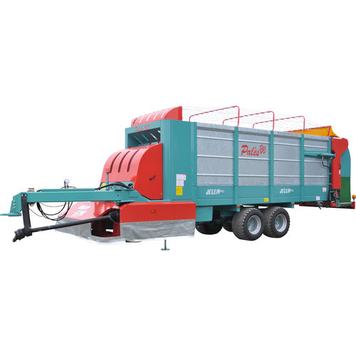 dump trailer / single-axle / agricultural / silage