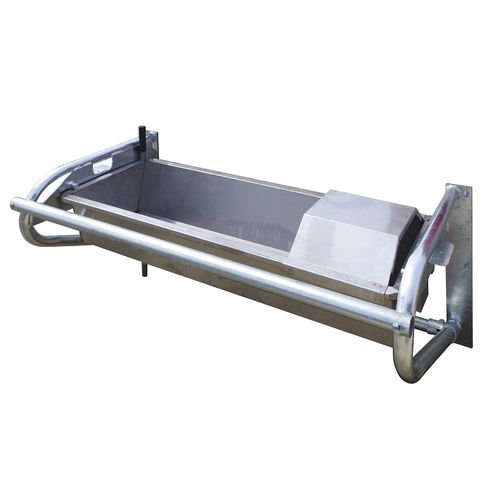 cow waterer / trough / metal / multi-access