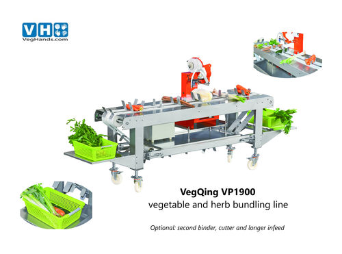 vegetable binding machine