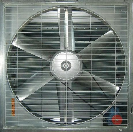 fan for livestock buildings / for air circulation / panel / axial