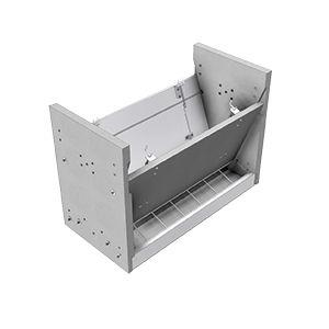 piglet feeder / concrete / multi-access