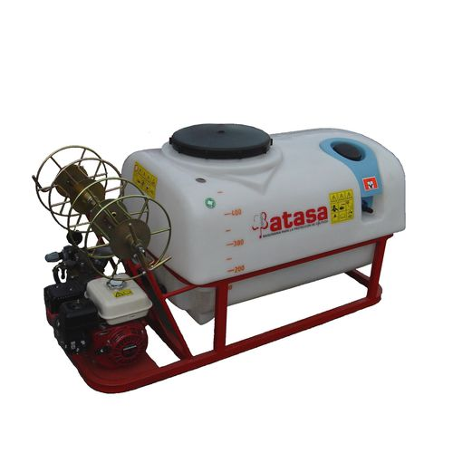 mounted sprayer / thermal / with piston pump / with diaphragm pump