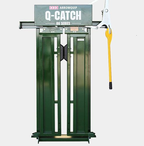 cattle head gate / manual tightening