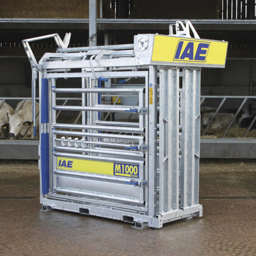 cattle squeeze chute / with weighing system