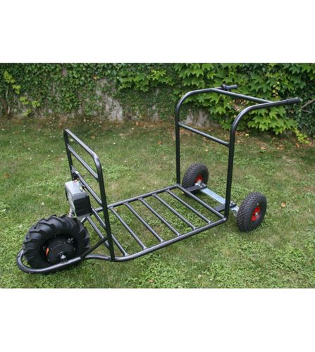 metal transport cart / motorized