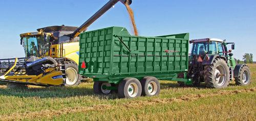 dump trailer / tandem axle / grain / forage