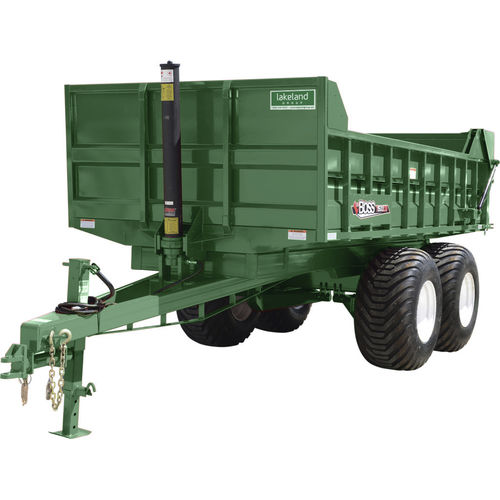 dump trailer / tandem axle / grain / 15 ton