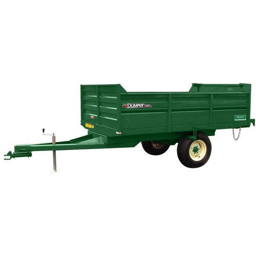 dump trailer / single-axle / grain / 5 ton