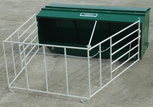 calf feed station