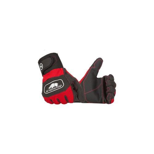 work gloves / waterproof / rubber