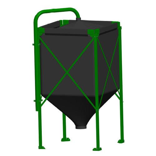 grain silo / for wheat / for animal feed / animal feed