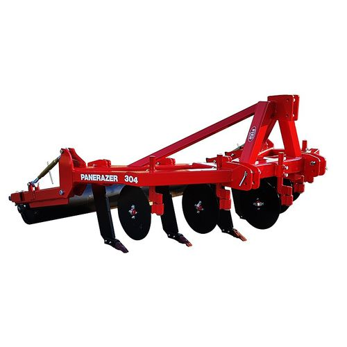 5-shank subsoiler / 3-point hitch / with roller