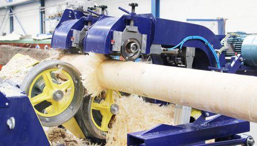 rotor debarker / stationary / forestry
