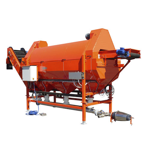 potato crop cleaning machine