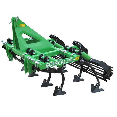 mounted field cultivator / rigid tine / 3-point hitch / fixed