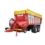 dump trailer / 2-axle / silage / 21 ton