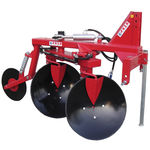 disc plough / mounted / 3-shank / 4-shank