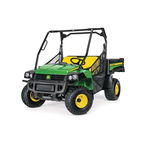 2-person utility vehicle / gasoline / with dump bed / 4x4