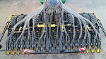hopper seed drill / trailed / direct