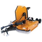 agricultural rotary cutter / rear-mount / PTO-driven