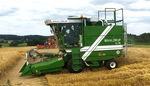 grain plot combine / for research / self-propelled