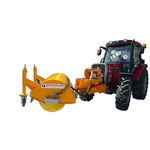 tractor-mounted sweeper