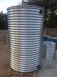 water tank / metal / outdoor
