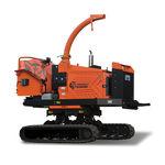 self-propelled wood chipper / diesel engine / hydraulic