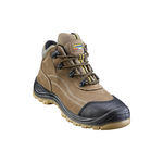 waterproof work shoes / anti-static / oil-resistant / leather