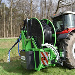 hydraulically-operated agriculture drainage cleaner
