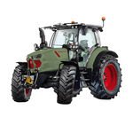 power-shift tractor / with cab / 3-point hitch / front PTO