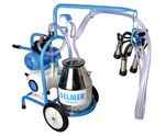 cow milking machine / for goats / electric motor / with combustion engine