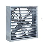 farm building fan / for greenhouse / extraction / wall-mounted