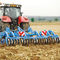 mounted field cultivator / with roller / chisel / folding