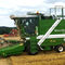 grain plot combine / for research / self-propelledC-70Haldrup