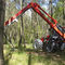tractor-mounted forestry crane