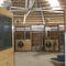 modular barn / for horses / round