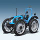 row-crop tractor / mechanical transmission / wide / with ROPS